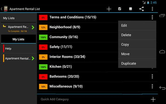 Apartment Rental Helper FREE apk screenshot