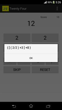 Twenty Four apk screenshot