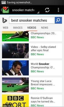 Best Snooker Matches apk screenshot