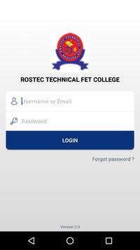 Rostec College App poster