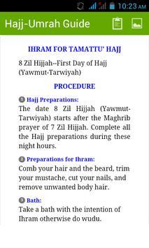 Hajj Umrah Guide Free apk screenshot