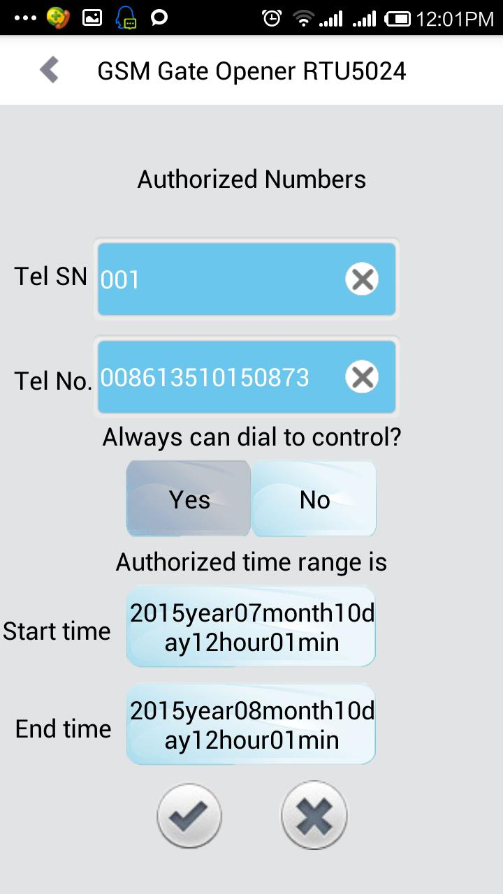 GSM Gate Opener RTU5024 for Android - APK Download