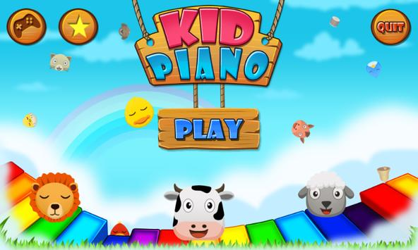 Kids Piano - Baby Games poster