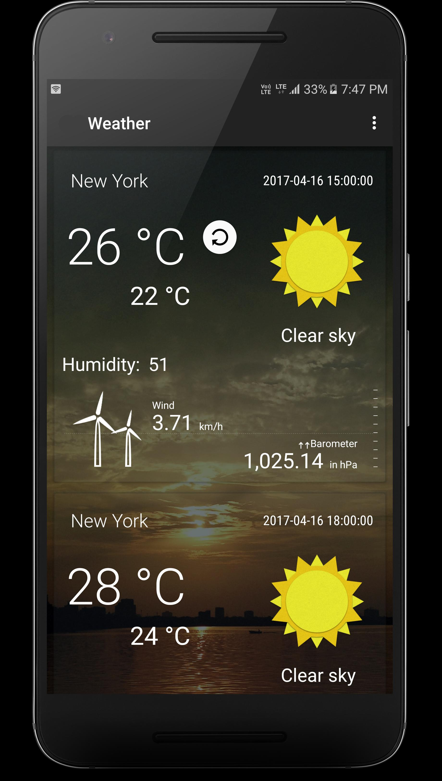 Weather App for Android - APK Download