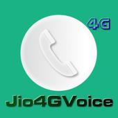 Instruction To Call Jio4GVoice icon