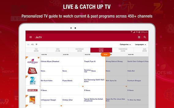 JioTV Live Sports Movies Shows apk स्क्रीनशॉट