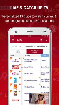 JioTV Live Sports Movies Shows poster