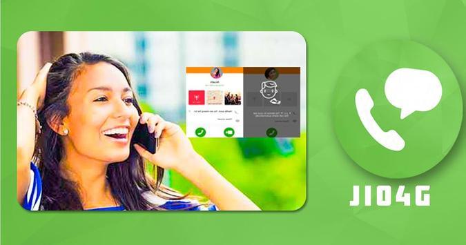 Jio4GVoice app poster
