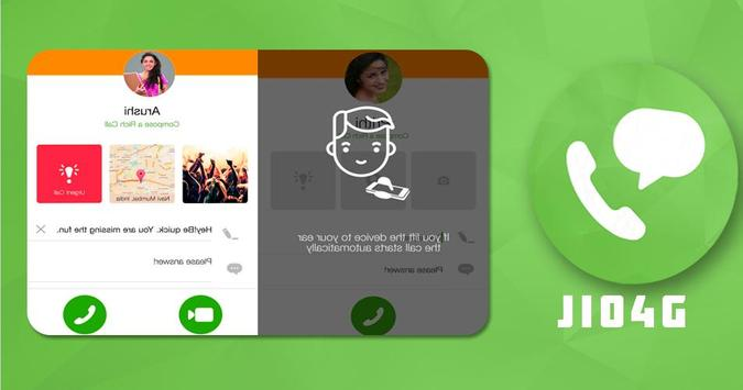 Jio4GVoice app screenshot 2