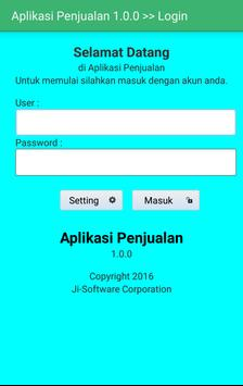 JI-Software Penjualan apk screenshot