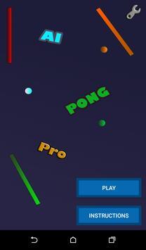 AI Pong Pro poster