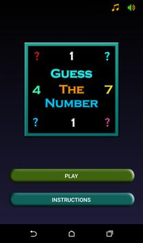 Guess The Number poster