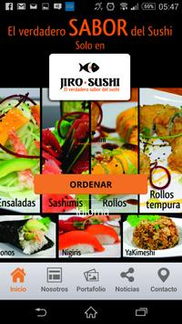 """""""The real taste of Sushi"""". poster"""