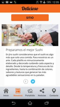 """The real taste of Sushi"". screenshot 1"