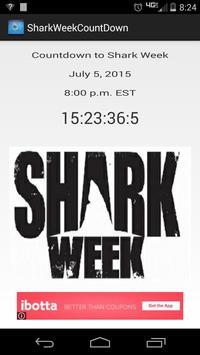 Shark Week Countdown poster