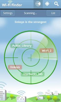 WiFi Finder screenshot 1