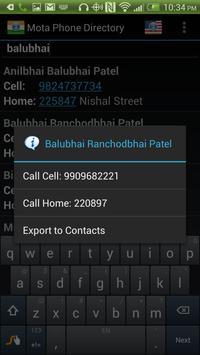 ... Mota Phone Directory apk screenshot ...