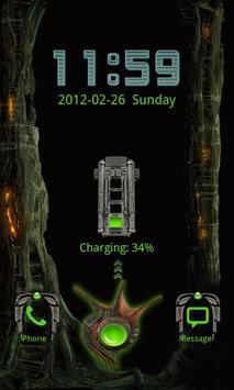 GO Locker Alien X apk screenshot