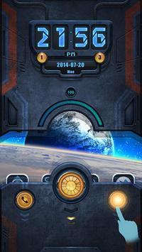 Machinery GO Locker Theme apk screenshot