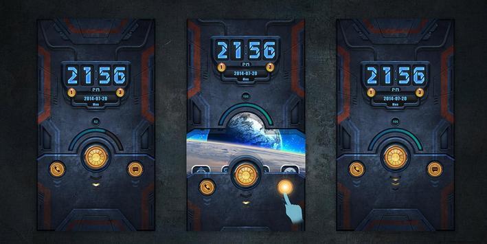 Machinery GO Locker Theme poster