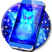 Neon Animal Lock Screen icon