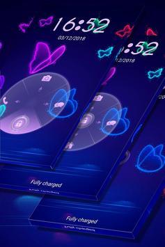 Neon Butterfly Locker screenshot 3