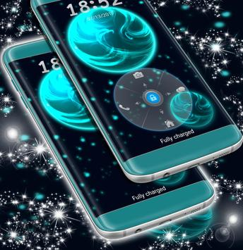 Neon Lock Screen Wallpaper Theme apk screenshot
