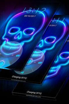 Neon Skull apk screenshot