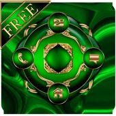 Free Abstract Emerald  Go locker icon