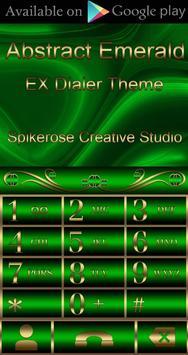 Free Abstract Emerald  Go locker theme screenshot 3