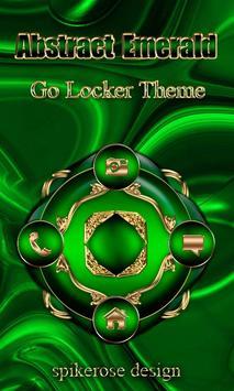 Free Abstract Emerald  Go locker theme poster