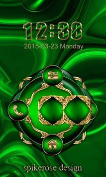 Free Abstract Emerald  Go locker theme screenshot 1