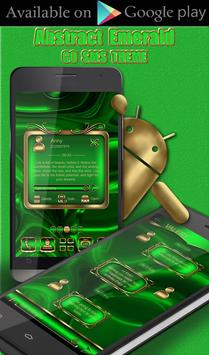 Free Abstract Emerald  Go locker theme screenshot 2