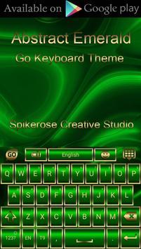 Free Abstract Emerald  Go locker theme screenshot 4