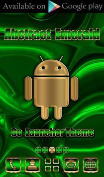 Free Abstract Emerald  Go locker theme screenshot 6