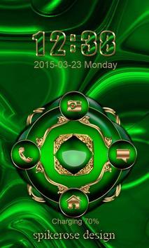 Free Abstract Emerald  Go locker apk screenshot
