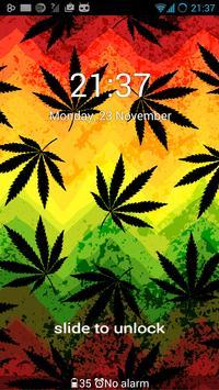 Weed Ganja Theme for GO Locker apk screenshot
