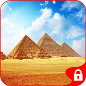 Pyramid Egypt GO Locker Theme icon