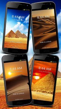 Pyramid Egypt GO Locker Theme poster