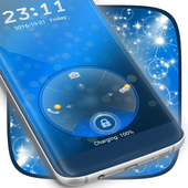 Blue Locker Theme icon