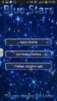 Blue Stars for GO Locker poster