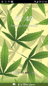 Weed Marijuana GO Locker Theme apk screenshot