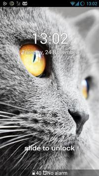 Mysterious Kitty for GO Locker apk screenshot