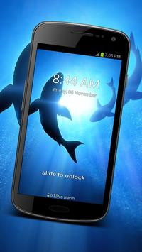 Ocean Shark GO Locker Theme poster