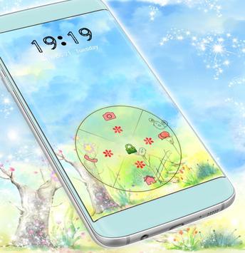 Cute Garden Locker Theme screenshot 2