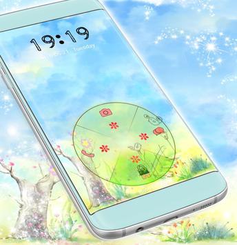 Cute Garden Locker Theme screenshot 4