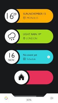 Color Bar GO Locker Free Theme apk screenshot