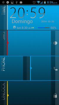 Elegant Blue Go Locker Theme screenshot 5
