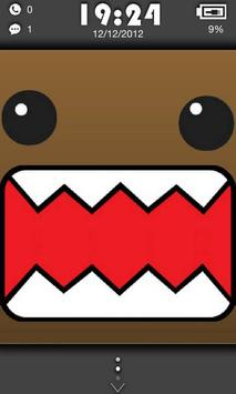 Domo theme Go Locker poster
