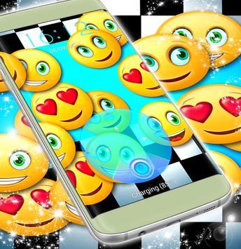 Emoji Theme Screen Lock poster